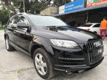 2011 AUDI A7 Q7 TDI Quattro S Line SUV LOCAL CAR S-LINE MMI QUATTRO POWER BOOT