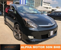 2007 TOYOTA WISH 1.8 (A) FACELIFT NICE NUMBER NEGO