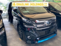 2015 TOYOTA VELLFIRE 3.5 VL full spec sunroof JBL theatre surround camera precrash system modellista bodykit unreg