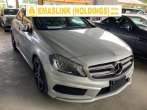 2014 MERCEDES-BENZ A-CLASS A180 AMG sport package back camera Japan spec unregistered