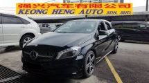 2014 MERCEDES-BENZ A-CLASS A250 SPORT 2.0cc AMG (A) REG 2014, CBU, ONE CAREFUL OWNER, FULL SERVICE RECORD, LOW MILEAGE DONE 32K KM, FREE 1 YEAR GMR CAR WARRANTY