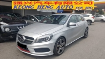 2014 MERCEDES-BENZ A-CLASS A250 SPORT AMG 2.0cc (A) REG 2014, CBU, ONE CAREFUL OWNER, FULL SERVICE RECORD, LOW MILEAGE DONE 72K KM, FREE 1 YEAR GMR CAR WARRANTY, 18