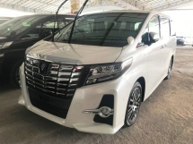 2016 TOYOTA ALPHARD 2.5 SC S C JBL SUNROOF CHEAP SELL
