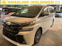 2015 TOYOTA VELLFIRE 2.5ZG FULLY LOADED JBL HOME THEATER SURROUND CAM UNREG OFFER