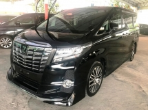 2016 TOYOTA ALPHARD 2.5 S C SC SUNROOF CHEAP SELL