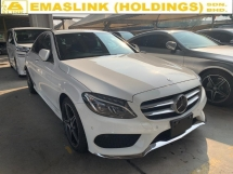 2014 MERCEDES-BENZ C-CLASS C180 AMG JAPAN UNREG KEYLESS PUSHSTART NEGO OFFER