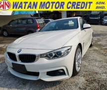 2014 BMW 4 SERIES 420i M Sport Coupe S/Roof Unregister 1 YEAR WARRANTY