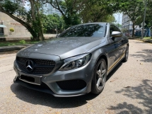2016 MERCEDES-BENZ C-CLASS USED  C200 2.0 COUPE AMG LOCAL UNDER WARRANTY