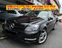 2014 MERCEDES-BENZ C-CLASS C200 Original AMG New Facelift TRUE YEAR MADE 2014 CKD Free 1 Yr Wrnty Mil 92k km Service C and C