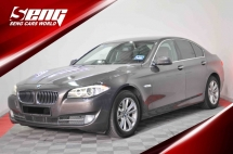 2013 BMW 5 SERIES 520i 2.0 F10 CONFIRMED 1 OWNER ONLY!!!