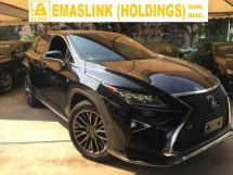 2016 LEXUS RX 200T  F SPORT SUV SUNROOF HUD WITH POWER BOAT FULL VIEW CAM