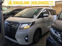 2015 TOYOTA ALPHARD G SPORT JBL SOUND SYSTEM MPV SUN ROOF P/CRASS FULL VIEW CAMERA