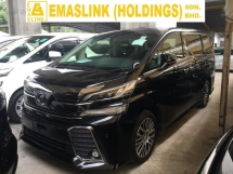 2016 TOYOTA VELLFIRE 2.5ZG EditioN  MPV P-CRS FULL VIEW CAMERA ALPINE MONITOR