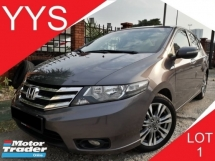 2013 HONDA CITY 1.5 (A) E SPEC I-VTEC 1 CAREFUL OWNER ACC FREE GOOD CONDITION YEAR END PROMOTION PRICE.