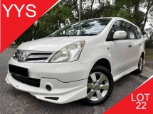 2012 NISSAN LIVINA 1.8 (A) FULL SPEC NISMO 1 CAREFUL OWNER ACC FREE GOOD CONDITION PROMOTION PRICE.