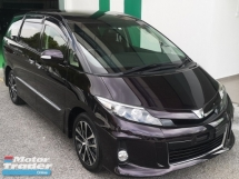 2015 TOYOTA ESTIMA 2014 TOYOTA ESTIMA 2.4 AERAS PREMIUM JAPAN SPEC UNREG CAR SELLING PRICE ( RM 158,000.00 NEGO ) BLACK