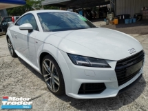 2015 AUDI TT 2.0 TFSI S LINE QUATTRO UNREGISTER 1 YEAR WARRANTY