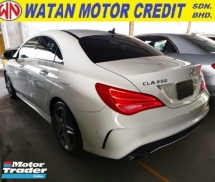 2016 MERCEDES-BENZ CLA 250 AMG UNREGISTER 1 YEAR WARRANTY