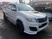 2016 TOYOTA HILUX 2.5G (A) LEATHER SEAT