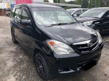 2009 TOYOTA AVANZA 1.3E FACELIFT (M) ONE OWNER