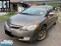 2008 HONDA CIVIC 2.0S PREMIUM HIGH SPEC NICE PLATE NUMBER ONE OWNER TIPTOP LIKE NEW CAR CONDITION