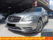 2011 MERCEDES-BENZ S-CLASS S300 L (CKD) 3.0 FACELIFT (A) FULL SPEC