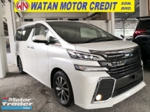 2017 TOYOTA VELLFIRE 2.5 Z ALPINE SUNROOF 360 CAM POWER BOOT JAPAN UNREG