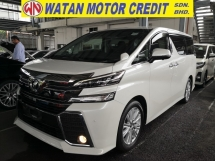 2016 TOYOTA VELLFIRE 2.5 ZA POWER BOOT AUTO CRUISE CONTROL JAPAN UNREG