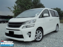 2008 TOYOTA VELLFIRE 3.5 VL Edition PilotSeat 2Powerdoor Powerboot HomeTheater Facelift Reg.2009