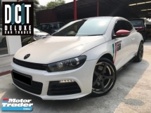 2013 VOLKSWAGEN SCIROCCO R LIMITED ORIGINAL SPEC FULL SERVICE RECORD VW MALAYSIA  WEEKEND USED ONLY