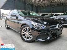 2016 MERCEDES-BENZ C-CLASS 2016 Mercedes C200 Avantgarde W205 Pre Crash Blind Spot HUD LKA Power Boot Full Leather Unregister for sale