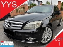 2010 MERCEDES-BENZ C-CLASS C200 1.8 (A) CGI BLUE EFFICIENCY TURBO
