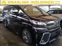 2015 TOYOTA VELLFIRE 2.5 ZG FULL SPEC FREE WARRANTY TIP TOP CAR CONDITION