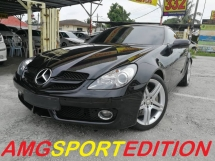 2013 MERCEDES-BENZ SLK SLK200 KOMPRESSOR AMG SPORTS EDITION