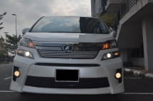 2012 TOYOTA VELLFIRE 2.4 (A) GOLDEN EYES NEW FACELIFT - REG 15 SUPERB COND WITH FULL SPEC