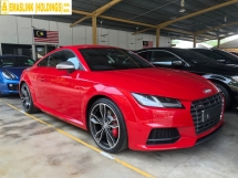 2015 AUDI TTS 2.0 Turbocharged 310hp S-Tronic Quattro Audi Virtual Cockpit Matrix-LED Direct Shift-Double Clutch TTS Bucket Seat TTS Exhaust TTS Brake Caliper TTS Body Kit Audi Multi Media Interface Auto Rear Spoiler Paddle Shift Bluetooth Connectivity Unreg