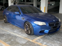 2011 BMW M5 4.4 TWINPOWER TURBO V8 (A) CBU F10
