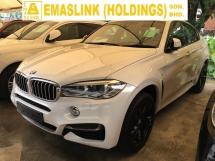 2016 BMW X6 X DRIVE 50D XDRIVE 50D M SPORT SUV TURBO DIESEL