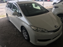 2015 TOYOTA WISH 1.8X Unregistered White