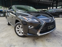 2016 LEXUS RX 200T BASE SPEC BEIGE SEAT OFFER UNREG