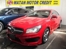 2014 MERCEDES-BENZ CLA CLA 180 AMG JAPAN UNREG COLLISION PREVENT ASSIST