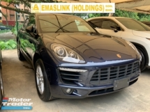 2016 PORSCHE MACAN S 3.0 Japan spec panormamic roof power boot electric seat back camera paddle shift sport mod unreg