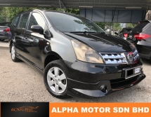 2008 NISSAN GRAND LIVINA IMPUL 1.6L (A) GOOD CONDITION