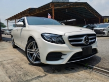 2018 MERCEDES-BENZ E-CLASS E250 AMG HUD PB BURMESTER PANROOF 4CAM FULL SPEC WHITE UNREG