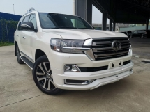 2017 TOYOTA LAND CRUISER 4.6 ZX G FRONTIER FULL SPEC WHITE UNREG
