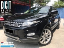 2013 LAND ROVER RANGE ROVER EVOQUE 2.0 Si4 LOCAL SPEC LOW MILEAGE FULL SEVICE RECORD
