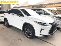 2016 LEXUS RX RX200t F Sport 2.0 Turbocharged Panoramic Roof 360 View Camera Pre Crash Head Up Display Running LED Intelligent Lane Departure Assist Multi Function Paddle Shift Steering Smart Entry Lane Departure Assist Bluetooth Connectivity Unreg