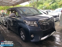2016 TOYOTA ALPHARD Unreg Toyota Alphard 2.5 X Spec 8seather 360view PowerBoot Push Start 7G