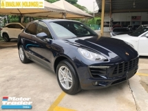 2016 PORSCHE MACAN S 3.0 Twin-Turbocharged 340hp Porsche Doppelkupplung Panoramic Roof Memory Bucket Seats Bi Xenon Light Paddle Shift 6 Piston Aluminum Monobloc Sport Mode Automatic Power Boot Unreg