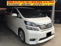 2010 TOYOTA VELLFIRE 2.4 Z PLATINUM Registered 2014